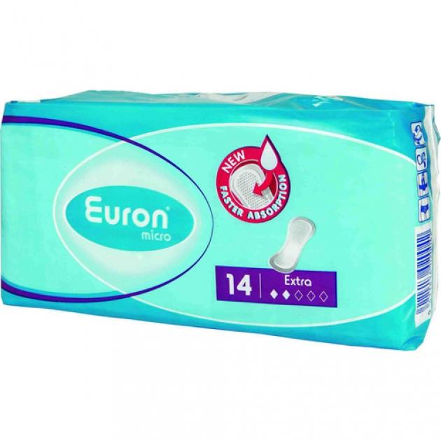 Прокладки послеродовые и урологические Euron Micro Extra 14шт