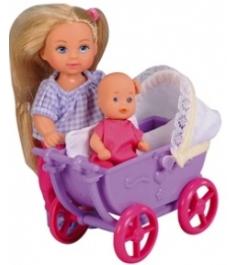 Кукла Evi Love Еви с малышом на прогулке 5736241...
