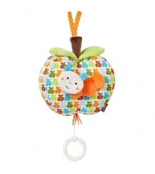 Музыкальная подвеска Яблочко (оранжевое) Счастье 088182