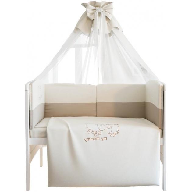 Комплект в кроватку 140х70  Fairy 7 предметов Я и моя мама