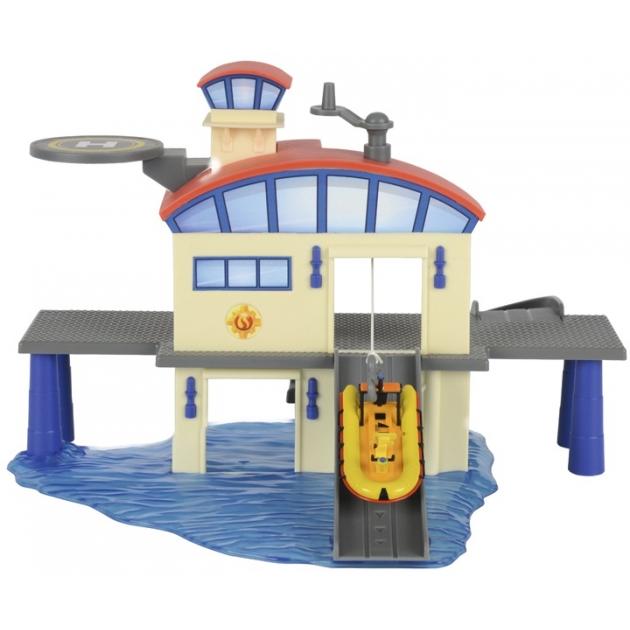 Игровой набор Пожарный Сэм Морская станция 3099616