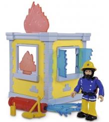 Игровой набор Simba Пожарный Сэм Маленькая тренировочная база с фигуркой 9251052...