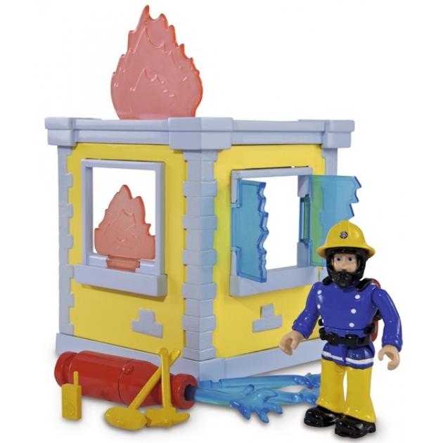 Игровой набор Simba Пожарный Сэм Маленькая тренировочная база с фигуркой 9251052
