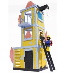 Игровой набор Пожарный Сэм Большая тренировочная база с фигуркой 9251053