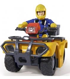 Игрушка Пожарный Сэм Квадроцикл со светом и фигурк...
