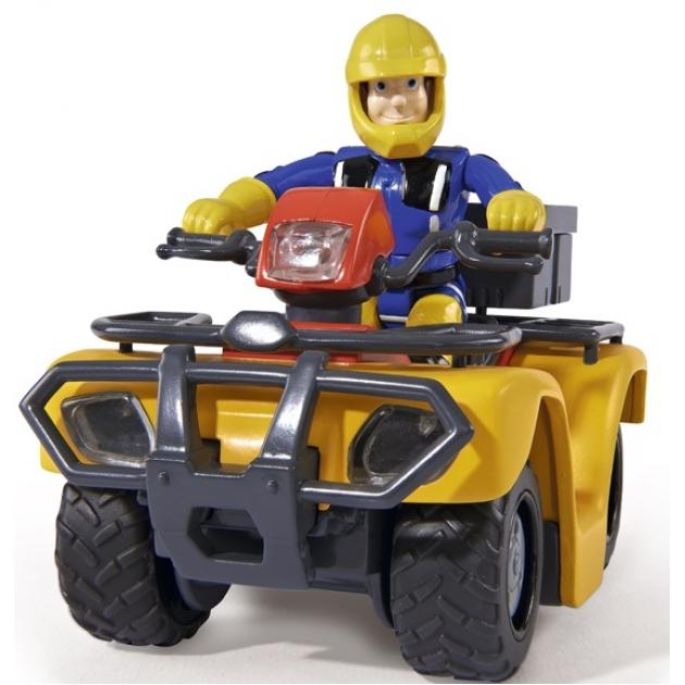 Игрушка Пожарный Сэм Квадроцикл со светом и фигуркой 9251058