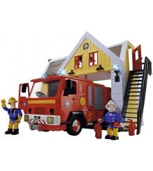 Игровой набор Simba Пожарный Сэм Пожарная станция со звуком и светом 9251062...