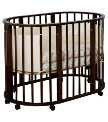 Детская круглая кроватка 3 в 1 Incanto Gio