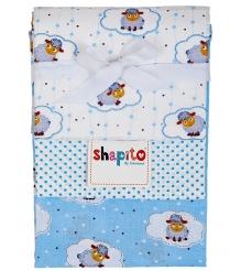 Комплект пеленок ситец Giovanni Shapito 3 шт 120x90 см