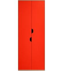 Детский шкаф для одежды и белья Глазов мебель Автобус 4 (красный)...