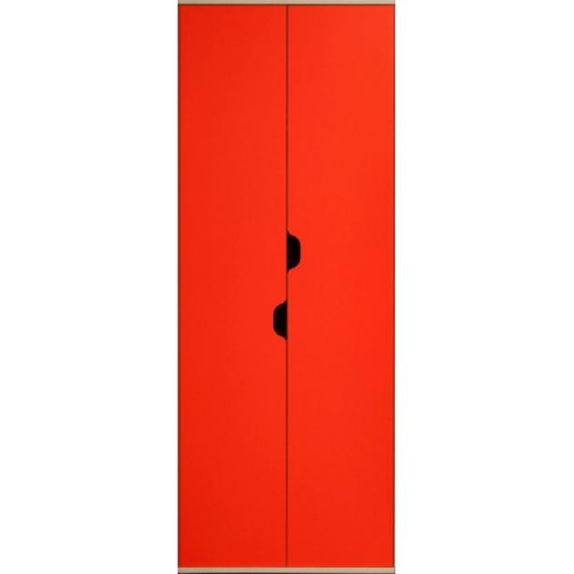 Детский шкаф для одежды и белья Глазов мебель Автобус 4 (красный)