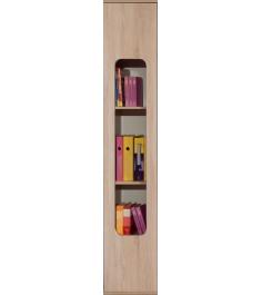 Детский шкаф для книг Глазов мебель Автобус 7 (дуб сонома)