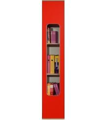 Детский шкаф для книг Глазов мебель Автобус 7 (красный)...