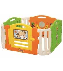 Пластиковый манеж Gona Toys Медвеженок Тедди GO-022