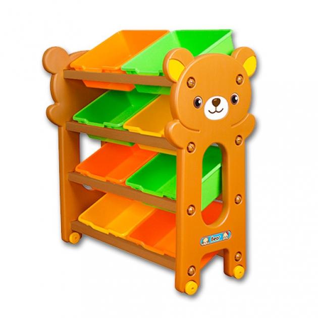 Ящик комод для игрушек Gona Toys 4 Секции