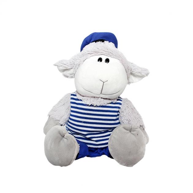 Мягкая игрушка символ года барашек морячок 26 см 40 dn13 0269b