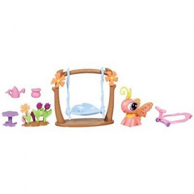 Литл пет шоп Littlest Pet Shop Игровой набор с ходячим зверьком Hasbro Хасбро 32838H