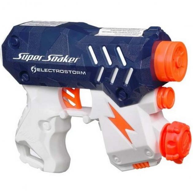 Super Soaker Водяной бластер Электрошторм Hasbro Хасбро 33693H