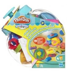 Детский пластилин play doh банка со сладостями 38984h