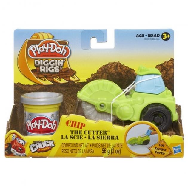 Детский пластилин play doh игровой набор пластилина машинки для строительства hasbro 49492h