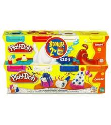 Детский пластилин play doh пластилин: 6+2 hasbro хасбро a90734h...