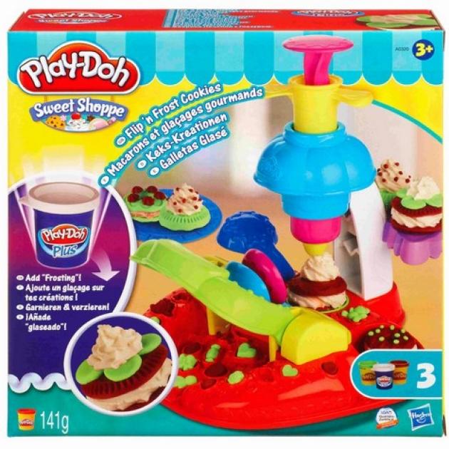 Детский пластилин набор фабрика печенья hasbro Play Doh a0320h