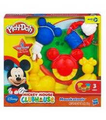 Детский пластилин play doh набор инструменты микки мауса hasbro хасбро a0556h...