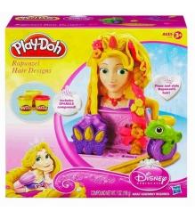 Детский пластилин play doh волосы рапунцель hasbro a1056h...