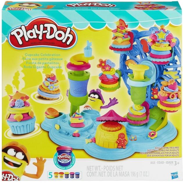 Игровой набор пластилина Hasbro Play Doh Карнавал сладостей B1855