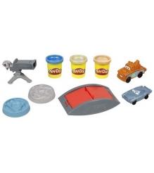 Детский пластилин play doh набор пластилина тачки 2 секретная операция hasbro хасбро 37908h