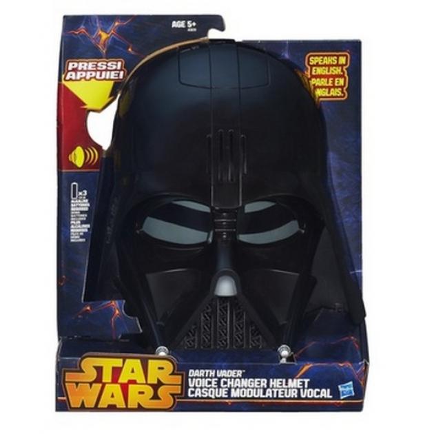 Детский шлем Star Wars Darth Vader Voice Ganger Helmet Hasbro Хасбро A3231H