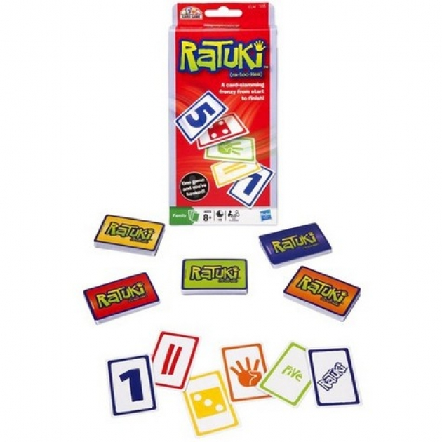 Games (Геймс) Игра Ратуки (карточная) Hasbro (Хасбро) (Арт.30709H)