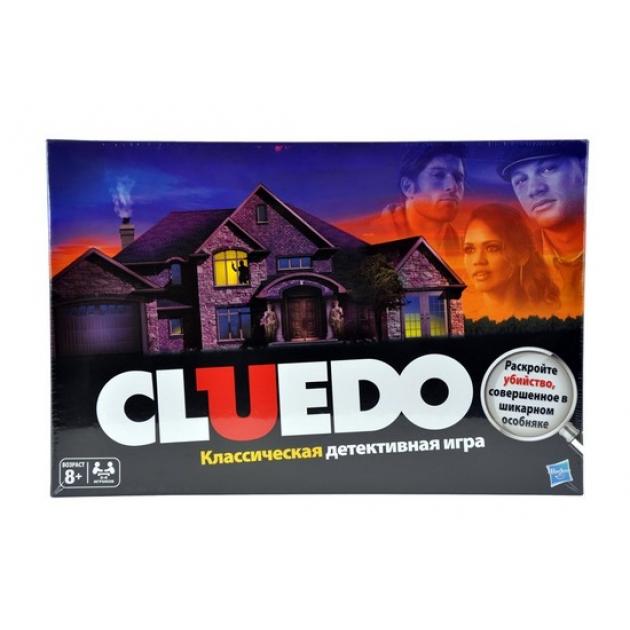 Games (Геймс) Игра Клуэдо обновленная Hasbro (Хасбро) (Арт. 38712H)