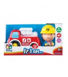 Серия Если бы я был пожарная машина и пожарный Keenwey 12673...