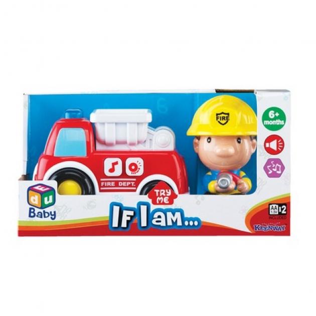 Серия Если бы я был пожарная машина и пожарный Keenwey 12673