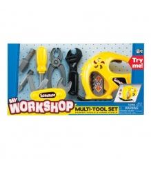 Детская мастерская Keenway Набор инструментов с электрорубанком Keenwey 12763