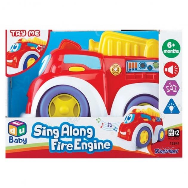 Веселая машинка Keenway пожарная 12841