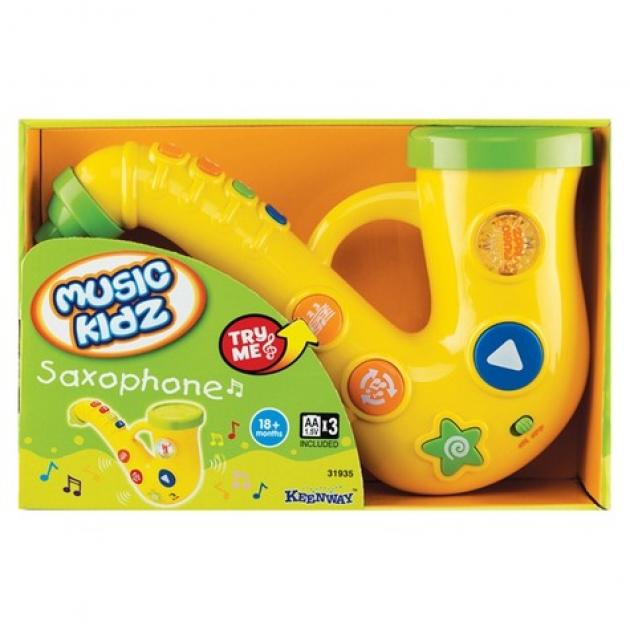 Игрушка музыкальные инструменты Keenway Саксофон серия Music Kidz 31935