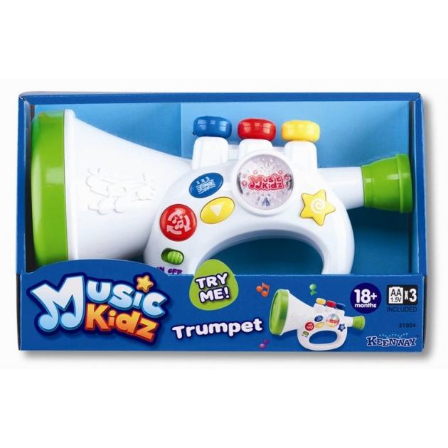 Игрушка музыкальные инструменты Keenway Труба из серии Music Kid 31954