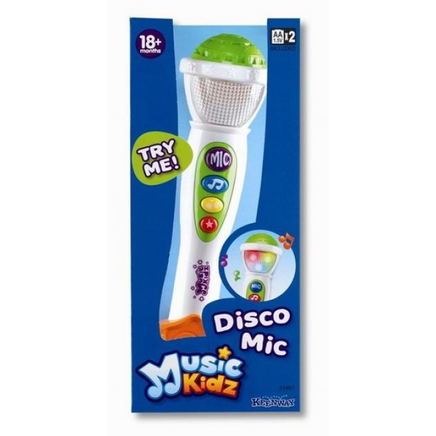 Музыкальная игрушка Keenway Disco микрофон 31957