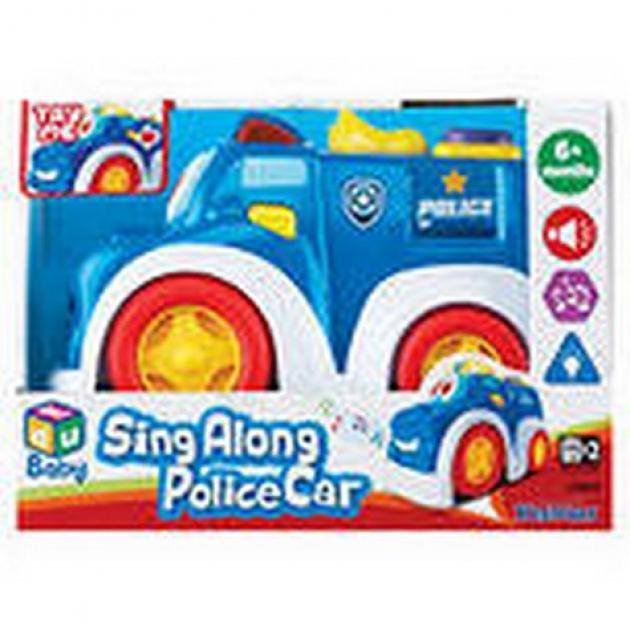 Веселая машинка Keenway полиция 12842