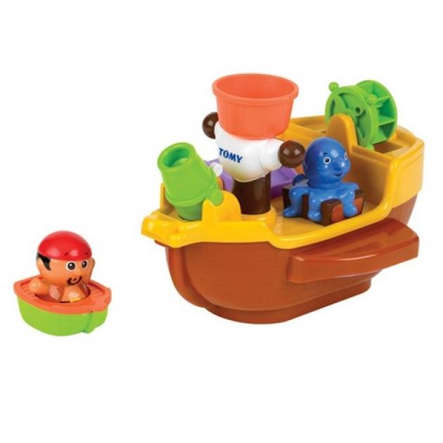Игрушка для ванной Tomy Пиратский корабль 71602