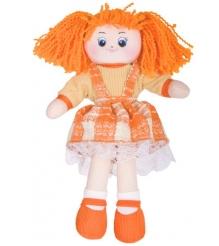 Мягкая игрушка кукла апельсинка в клетчатом платье 30 см 30 11bac3498