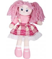 Мягкая игрушка кукла клубничка в клетчатом платье 30 см 30 11bac3505