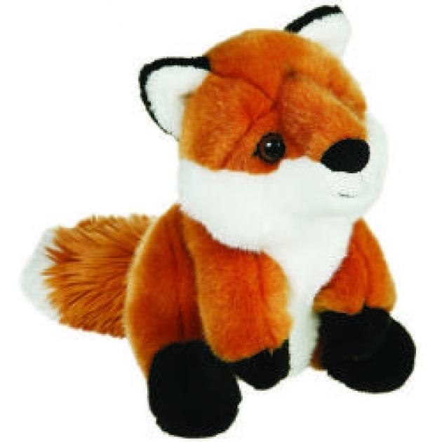 Мягкая игрушка лиса 20 см 50 86414f
