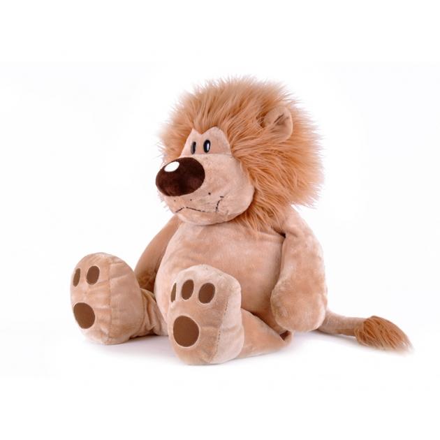 Мягкая игрушка лев лева сидячий 56 см 7 5002