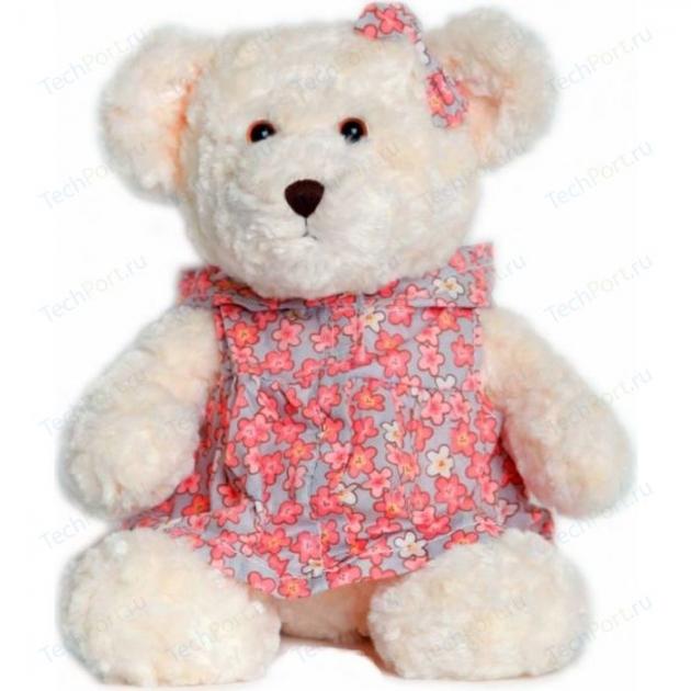 Мягкая игрушка мишка милашка в платье с капюшоном 25 см 18 8826g 1