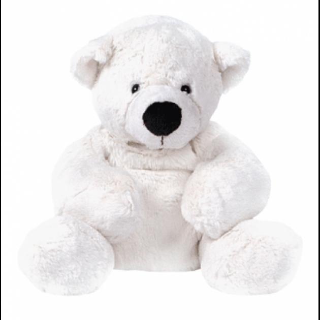Мягкая игрушка медведь белый лежачий 23 см 7 43063 1