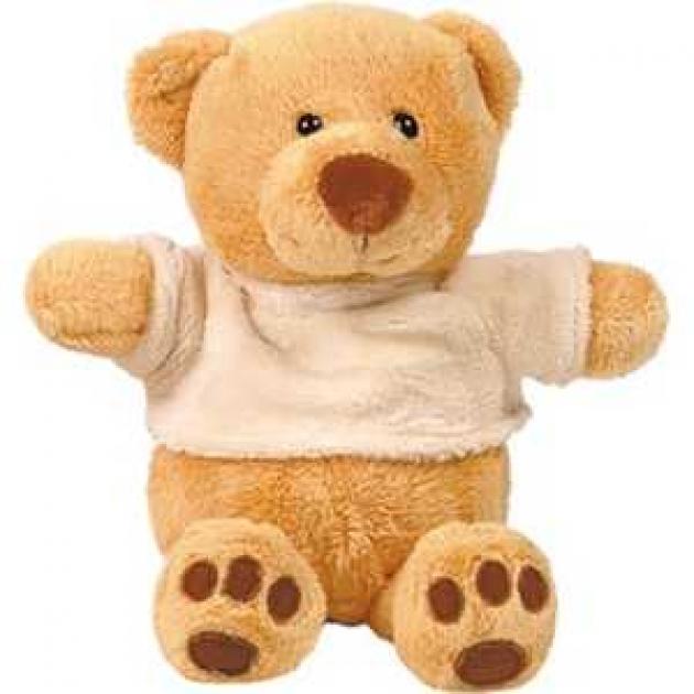 Мягкая игрушка медведь миша в майке сидячий 23 см 7 5574