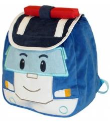 Детский плюшевый рюкзак Поли с крышкой PR001BP